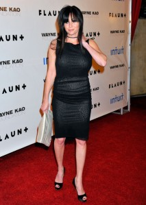 Shannon Doherty needing a serious shapewear intervention