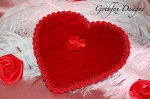 Red Valentine Merkin Goth Fox
