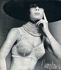 Vintage Bra Ad- Couture Look