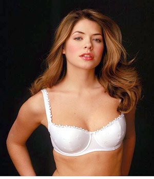 Holly Willoughby Models Pretty Polly Bra