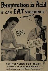 Vintage Stocking Advert