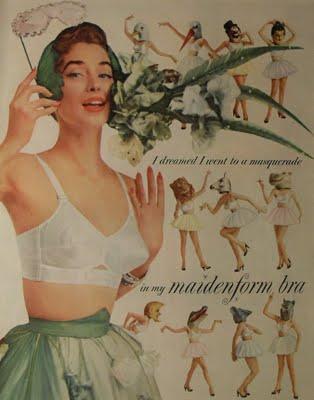 "Maidenform ""I Dreamed I..."" Ad- Masquerade"