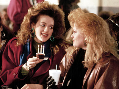 Melanie Griffith and Joan Cusack in Working Girl